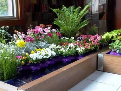 立体景观花柱,花球花箱等